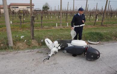 Immagine News - villa-s.martino-54enne-fuori-strada-con-il-motorino