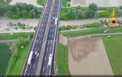 Immagine News - maltempo-au-stata-riparata-la-falla-nellargine-del-fiume-montone-nel-forlivese