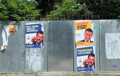 Immagine News - in-emilia-romagna-sono-spuntati-falsi-manifesti-elettorali-di-salvini-e-di-maio