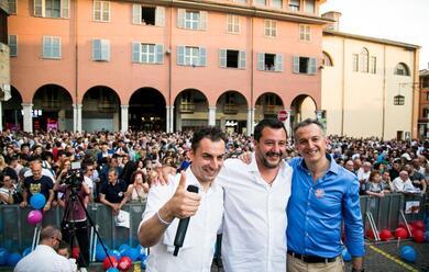 Immagine News - ballottaggi-alle-comunali-applausi-e-fischi-per-il-vicepremier-salvini-a-cesena-e-a-forla