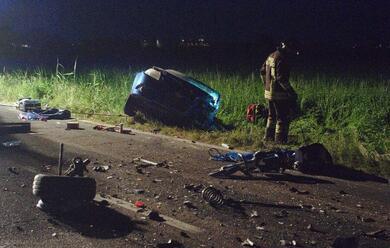 Immagine News - ravenna-tragedia-sulla-dismano-a-borgo-faina-muore-motociclista