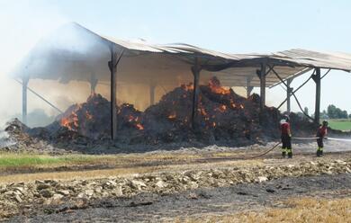 Immagine News - santantonio-a-fuoco-oltre-mille-balle-di-fieno