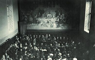 Immagine News - quando-benedetto-croce-apri-il-vi-centenario-di-dante-nel-192