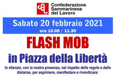 Immagine News - san-marino-la-csdl-domani-in-piazza-per-il-flash-mob