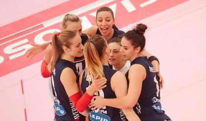 Immagine News - volley-a2-donne-playoff-un-debutto-da-applausi-per-la-teodora-3-0