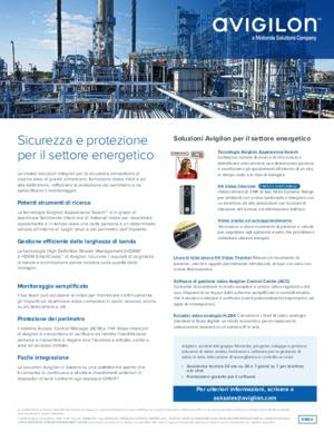 Avigilon Solutions for Energy