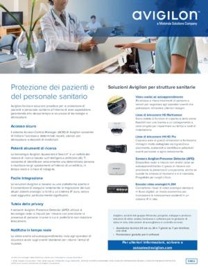 Avigilon Solutions for Healthcare