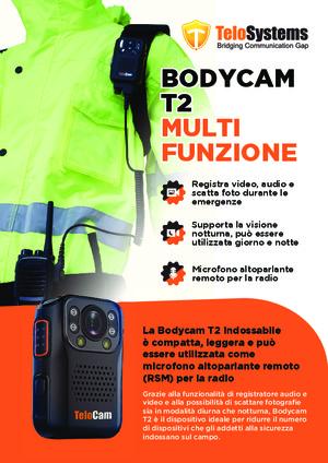 Bodycam Multifunzione TeloCam T2