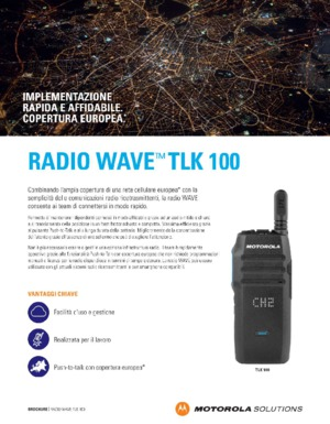 Radio WAVE TLK 100