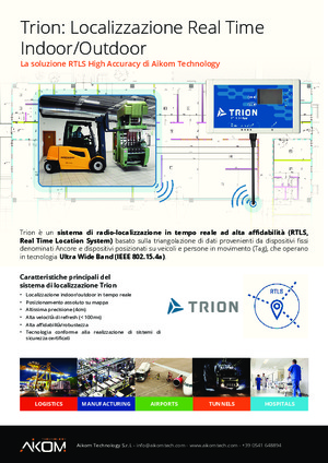 Trion: Localizzazione Real Time Indoor/Outdoor