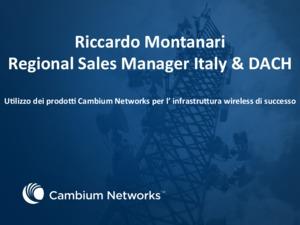 Utilizzo dei prodotti Cambium Networks per l'infrastruttura wireless di successo
