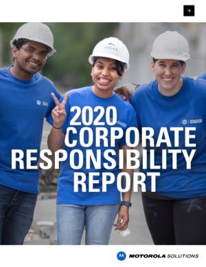 2020 Corporate Responsibility Report
