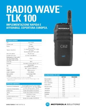 Radio WAVE TLK 100
