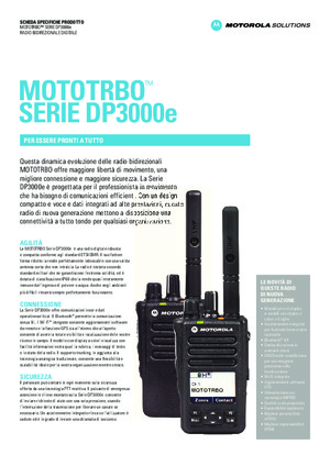 DP3000e Datasheet