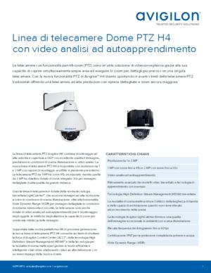 H4 PTZ Data sheet [ITA]