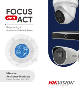 Hikvision AcuSense Products Leaflet