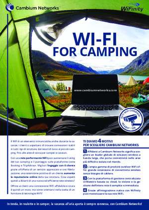 Wi-Fi for Camping