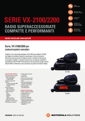 VX-2100/2200 Series data sheet
