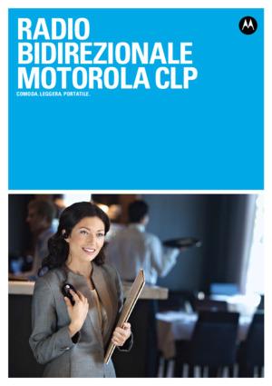 Motorola CLP446 Brochure