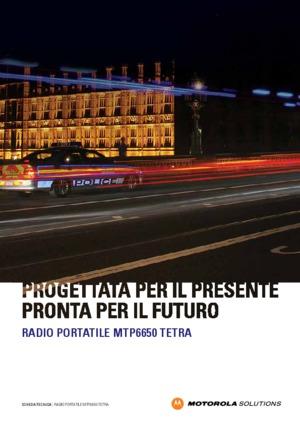 TETRA MTP6650 data sheet