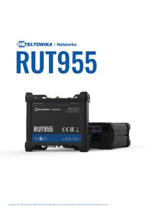 RUT955 Router datasheet