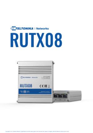 RUTX08 Router Datasheet
