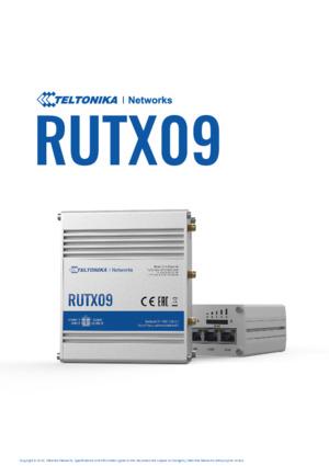 RUTX09 Router Datasheet