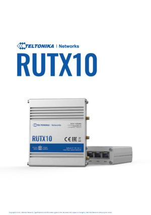 RUTX10 Router Datasheet
