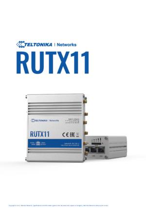 RUTX11 Datasheet