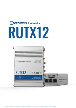 RUTX12 Datasheet