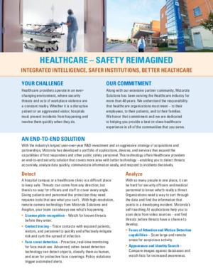 Safe Hospitals Flyer
