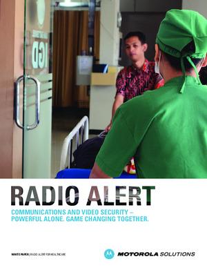 Safe Hospitals Radio Alert White Paper