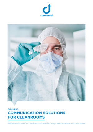 Communication solutions for cleanrooms