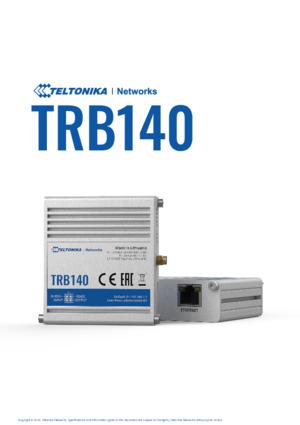 TRB140 Datasheet