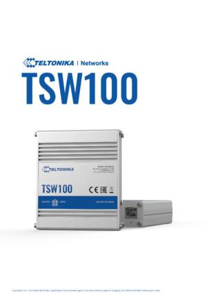 TSW100 switch datasheet
