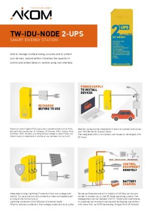 TW-IDU-NODE 2-UPS datasheet